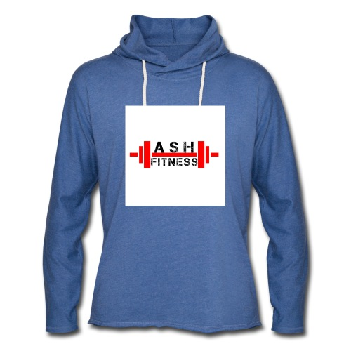 ASH FITNESS MUSCLE ACCESSORIES - Unisex Lightweight Terry Hoodie