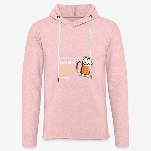 Two beer or not tWo beer - Unisex Lightweight Terry Hoodie