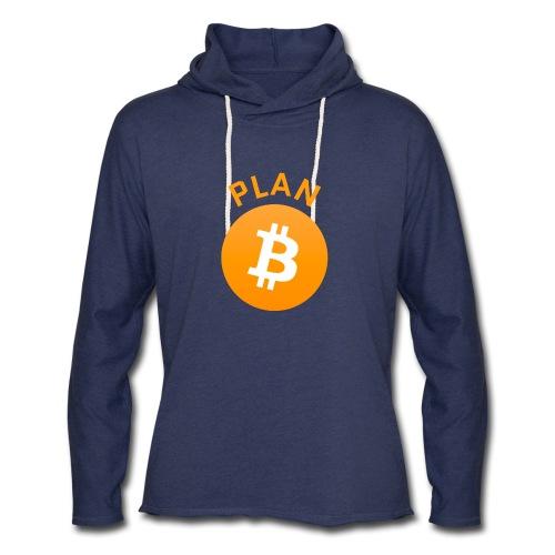 Plan B - Bitcoin - Unisex Lightweight Terry Hoodie