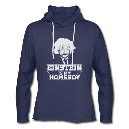 Einstein Is My Homeboy - Unisex Lightweight Terry Hoodie