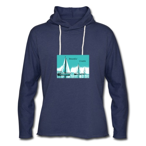 Beautiful Croatia - Unisex Lightweight Terry Hoodie