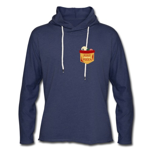 Just feed me pizza - Unisex Lightweight Terry Hoodie