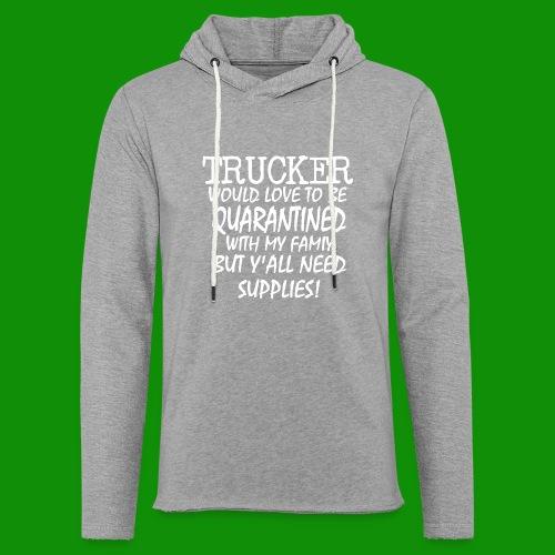 Trucker Supplies - Unisex Lightweight Terry Hoodie