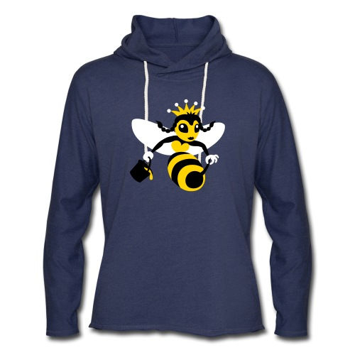 Queen Bee - Unisex Lightweight Terry Hoodie