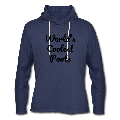 World's Coolest Pants - Unisex Lightweight Terry Hoodie