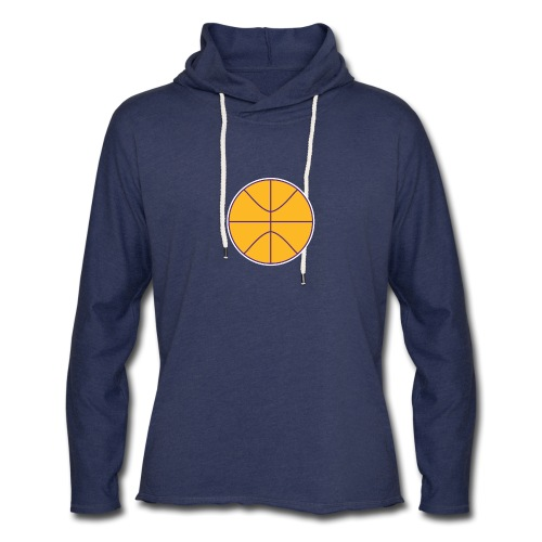 Basketball purple and gold - Unisex Lightweight Terry Hoodie