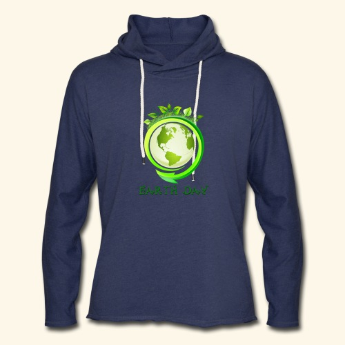 Happy Earth day - 2 - Unisex Lightweight Terry Hoodie