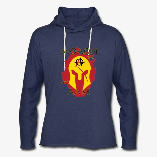 Molon Labe - Anarchist's Edition - Unisex Lightweight Terry Hoodie