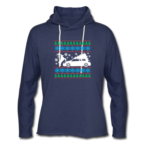 MK6 GTI Ugly Christmas Sweater - Unisex Lightweight Terry Hoodie