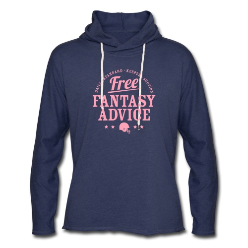 Free Fantasy Football Advice - Unisex Lightweight Terry Hoodie