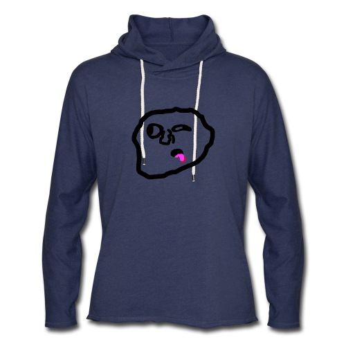 Something On Your Face - Unisex Lightweight Terry Hoodie