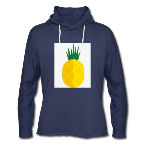 Pixel looking Pineapple - Unisex Lightweight Terry Hoodie