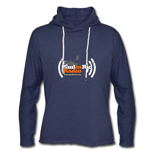 Paul in Rio Radio - Thumbs-up Corcovado #1 - Unisex Lightweight Terry Hoodie