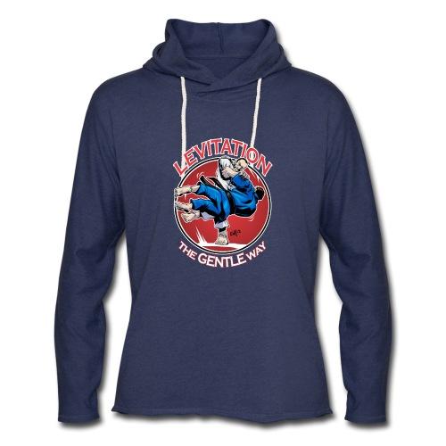 Judo Levitation for dark shirt - Unisex Lightweight Terry Hoodie
