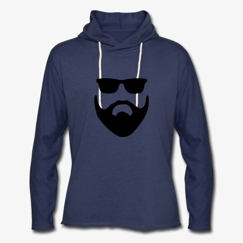 Beard & Glasses - Unisex Lightweight Terry Hoodie