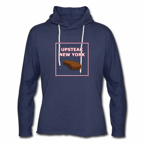 Upsteak New York | July 4 Edition - Unisex Lightweight Terry Hoodie