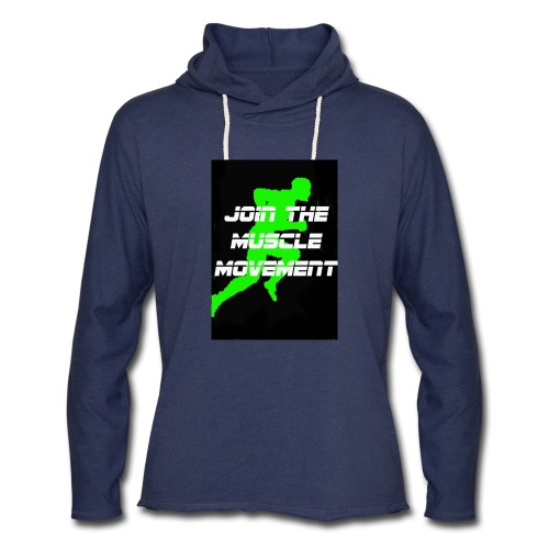 muscle movement - Unisex Lightweight Terry Hoodie