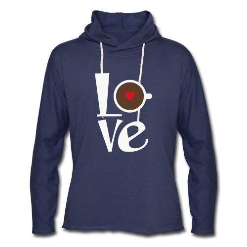 Love Coffee - Unisex Lightweight Terry Hoodie