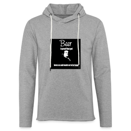 Beer T-shirt - Unisex Lightweight Terry Hoodie