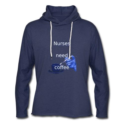 Nurses need coffee - Unisex Lightweight Terry Hoodie