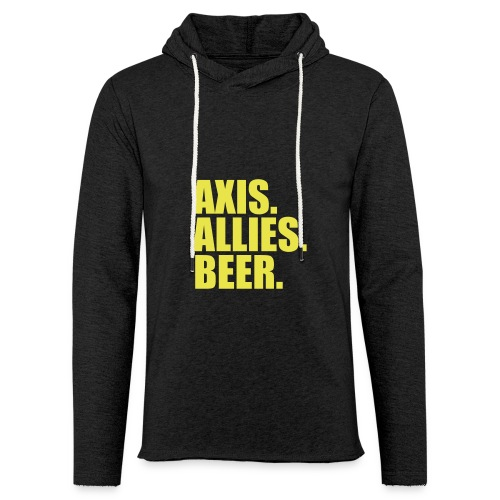 Axis. Allies. Beer. Axis & Allies - Unisex Lightweight Terry Hoodie