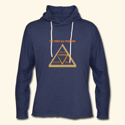 Run4Dogs Triangle - Unisex Lightweight Terry Hoodie