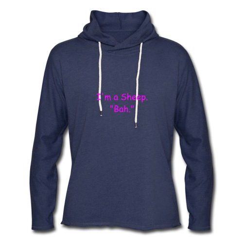 I'm a Sheep. Bah. - Unisex Lightweight Terry Hoodie