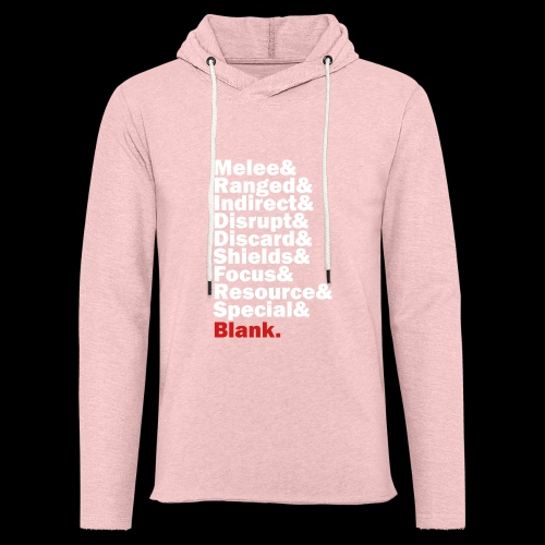 Discard to Reroll - Sides of the Die - Unisex Lightweight Terry Hoodie