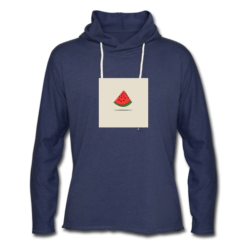 Coastal Watermelon - Unisex Lightweight Terry Hoodie