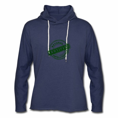 Natural Intelligence - Unisex Lightweight Terry Hoodie