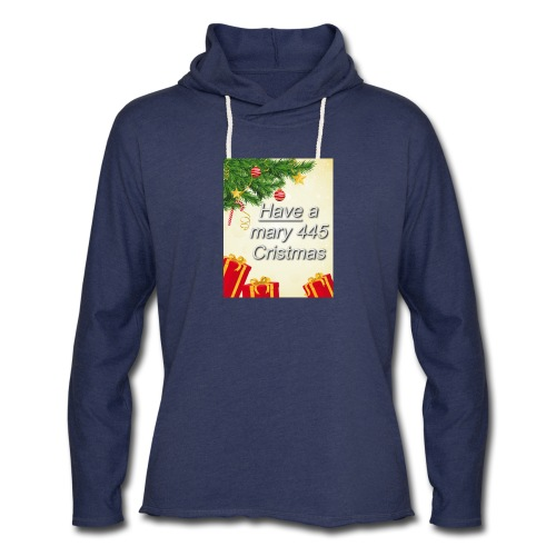 Have a Mary 445 Christmas - Unisex Lightweight Terry Hoodie