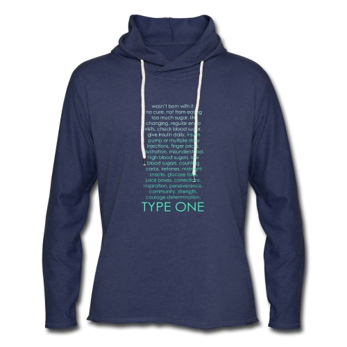 The Inspire Collection - Type One - Green - Unisex Lightweight Terry Hoodie