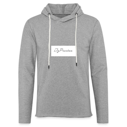 Full White - Unisex Lightweight Terry Hoodie