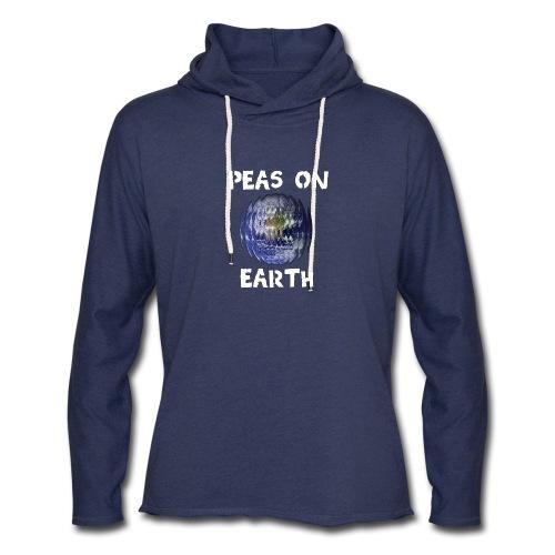Peas on Earth! - Unisex Lightweight Terry Hoodie