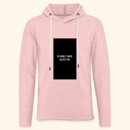 unbothered - Unisex Lightweight Terry Hoodie