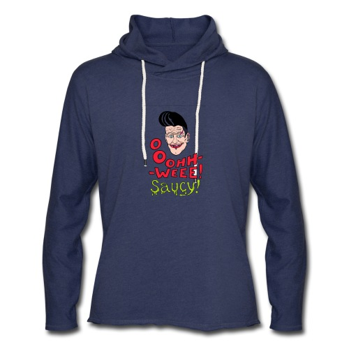 Jubilant classic hipster - Unisex Lightweight Terry Hoodie