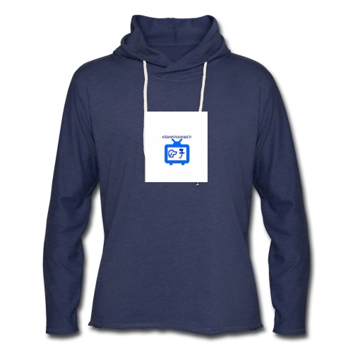 OdogVlogsTv Offical Logo - Unisex Lightweight Terry Hoodie