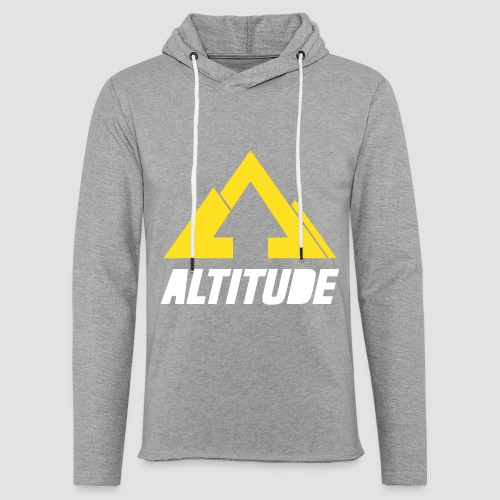 Empire Collection - Yellow - Unisex Lightweight Terry Hoodie