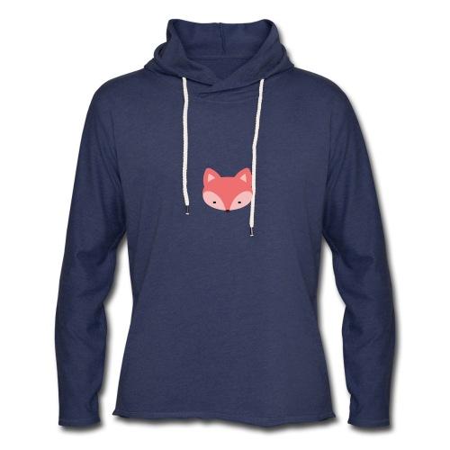 Fox Gift Logo - Unisex Lightweight Terry Hoodie