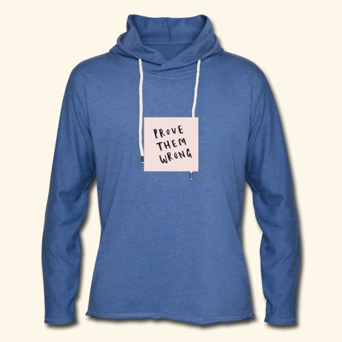 show em what you about - Unisex Lightweight Terry Hoodie