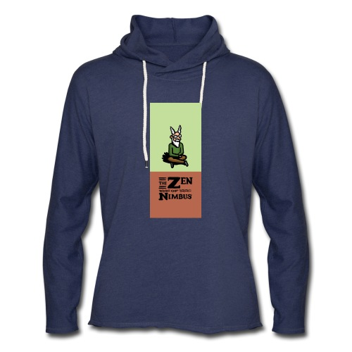 Nimbus and logo full color vertical format - Unisex Lightweight Terry Hoodie