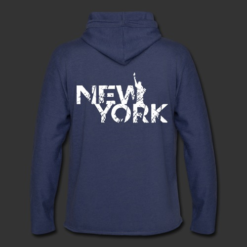 New York (Flexi Print) - Unisex Lightweight Terry Hoodie