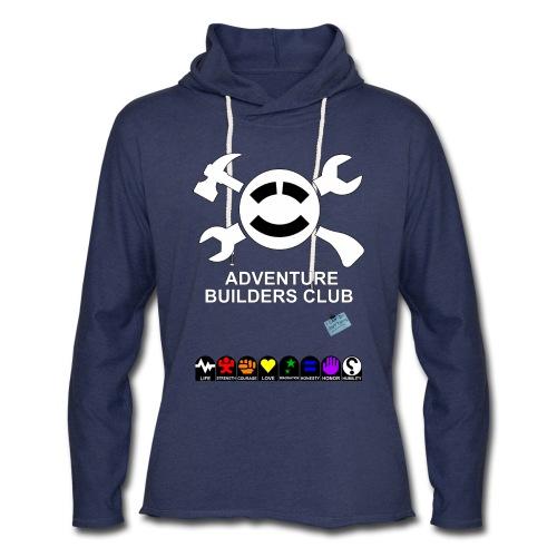 Adventure Builders Club - Unisex Lightweight Terry Hoodie