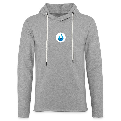 flame front png - Unisex Lightweight Terry Hoodie