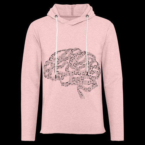 Sound of Mind | Audiophile's Brain - Unisex Lightweight Terry Hoodie