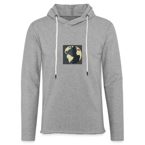 The world as one - Unisex Lightweight Terry Hoodie