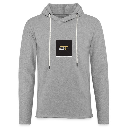BT logo golden - Unisex Lightweight Terry Hoodie