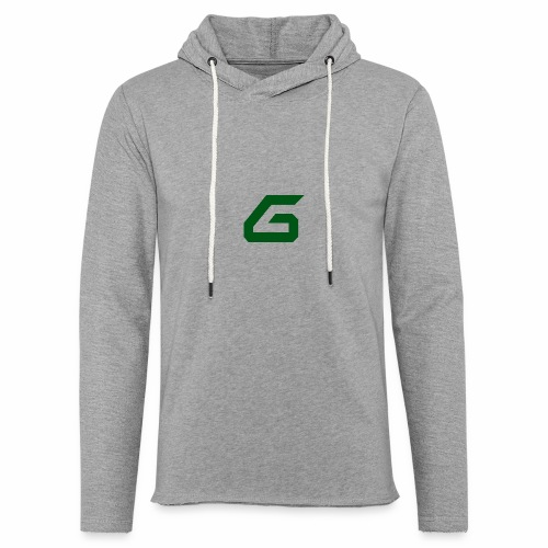 The New Era M/V Sweatshirt Logo - Green - Unisex Lightweight Terry Hoodie