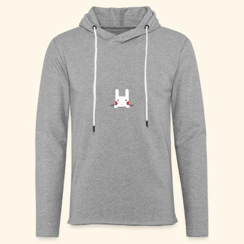 Pocket Bunny - Unisex Lightweight Terry Hoodie