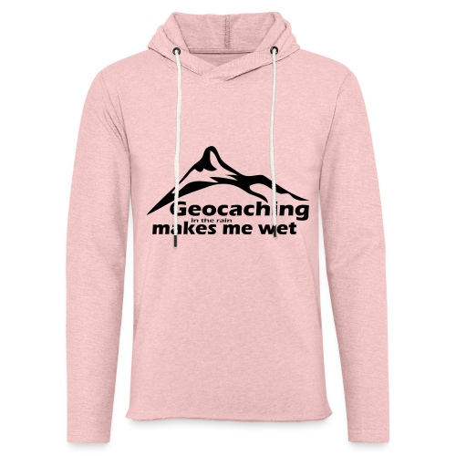 Wet Geocaching - Unisex Lightweight Terry Hoodie